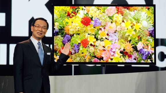Panasonic unveils 4K OLED TV, 4K tablet