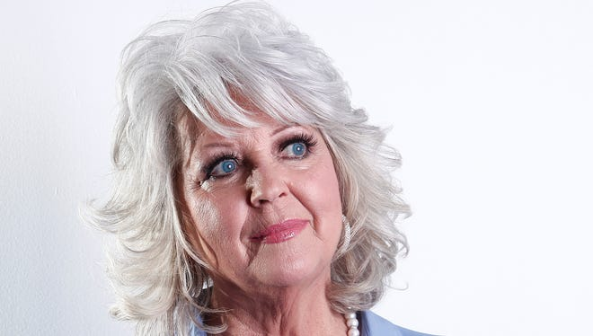 In this Jan. 17, 2012, file photo, celebrity chef Paula Deen poses for a portrait in New York.
