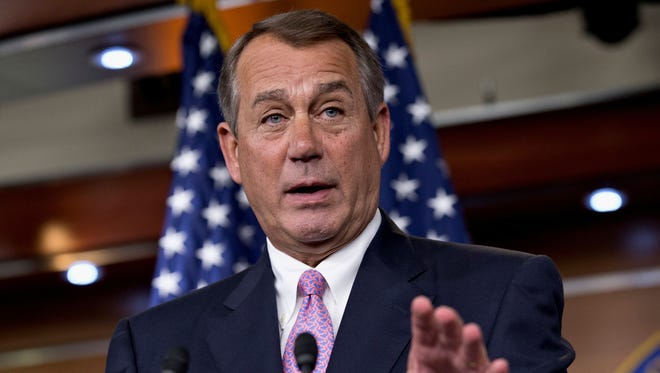 House Speaker John Boehner said that the United States would not boycott the Winter Olympics if Russia grants asylum to Edward Snowden.