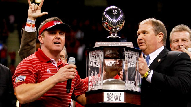 After winning the New Orleans Bowl in 2012, Louisiana has eyes on claiming the Sun Belt Conference title.