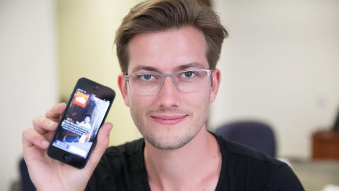 SoundCloud CEO Alexander Ljung.