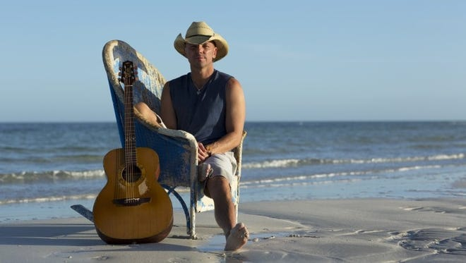 """Kenny Chesney's latest single is """"When I See This Bar."""""""