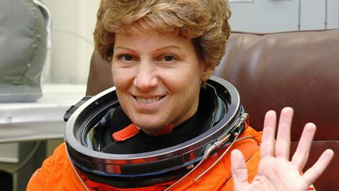 Mission Commander Eileen Collins at Cape Canaveral, Fla., in 2005.