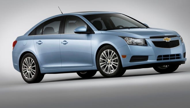 The Chevrolet Cruze Eco is one version of the current model