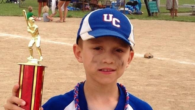Dylan Williams, 8, died after being hit in the head with a baseball during practice.