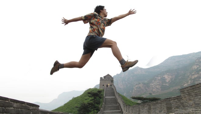 Great firewall of China: Chinese blogger ''Zola'' takes a symbolic leap in 'High Tech, Low Life.'