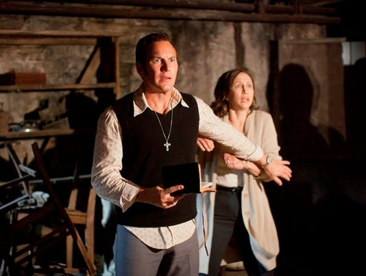 'Conjuring' has enough cheap thrills to win box office