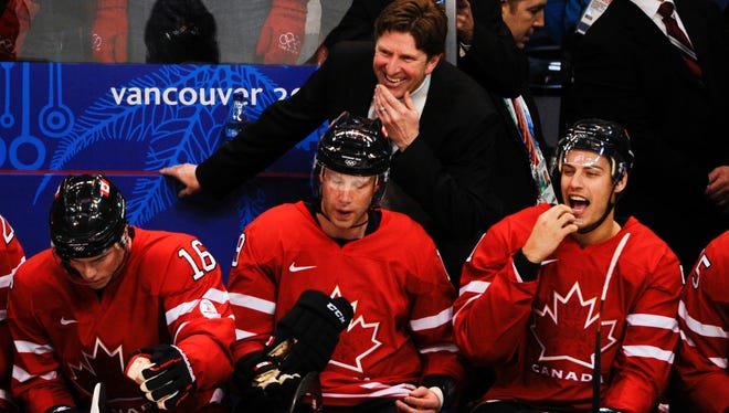 Mike Babcock coached Team Canada to a gold medal at the Vancouver Olympics.