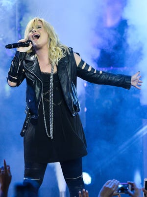 Demi Lovato performs at the  2013 MuchMusic Video Awards at MuchMusic HQ in Toronto in June.