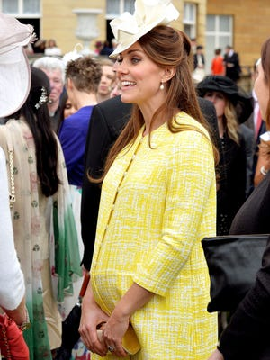 Catherine, Duchess of Cambridge, is awaiting the birth of her first child.