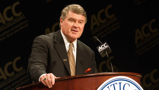 Atlantic Coast Conference commissioner John Swofford