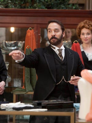 Jeremy Piven as Harry Selfridge in the PBS Masterpiece series.