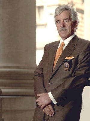 "Dennis Farina was on ""Law & Order,"" among other shows."