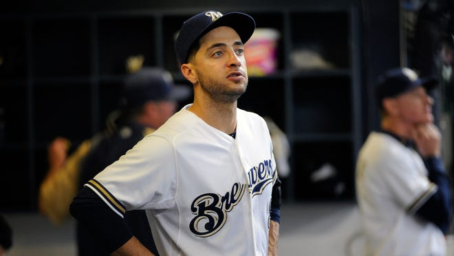 Brewers outfielder Ryan Braun has been suspended without pay for the rest of the season.