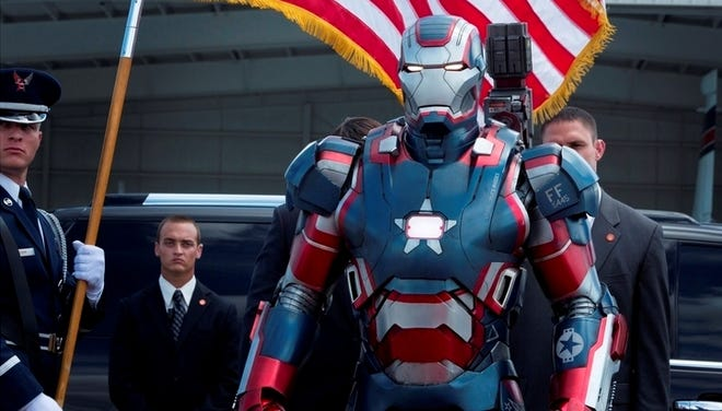 Sales of 3-D tickets for films such as for 'Iron Man 3' are driving up prices.