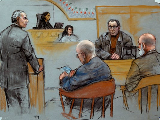 Stephen Flemmi at Whitey Bulger trial
