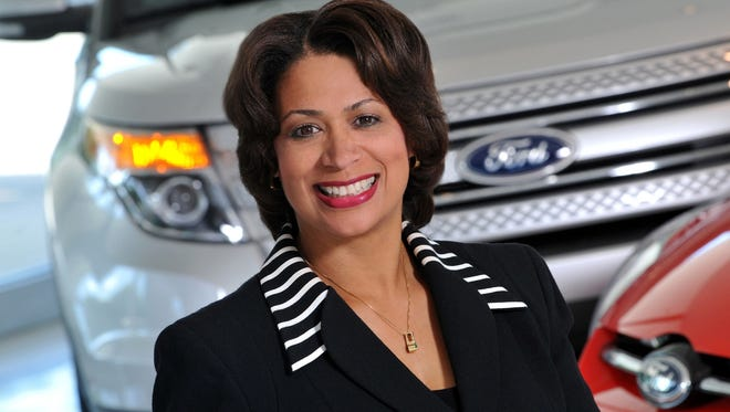 Group Vice President Felicia Fields of Ford says more white-collar workers will be hired