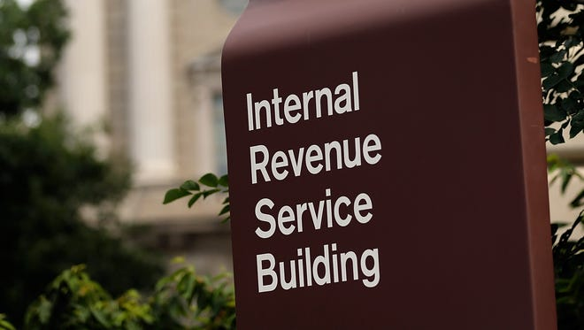 The Internal Revenue Service Building is shown July 22  in Washington, D.C.