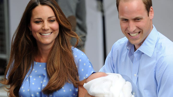 Royal-baby reveals have come a long way since 1982