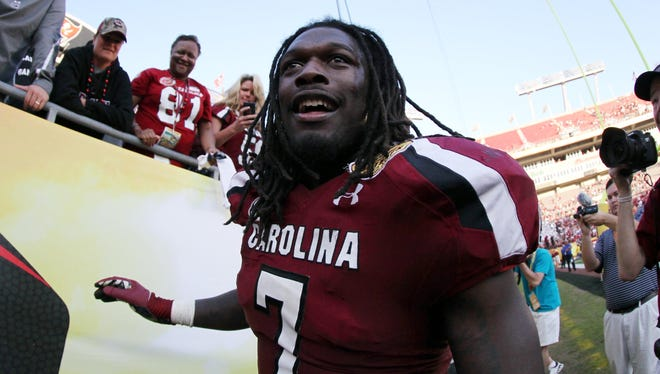 Clowney is considered a top prospect for the 2014 NFL draft.