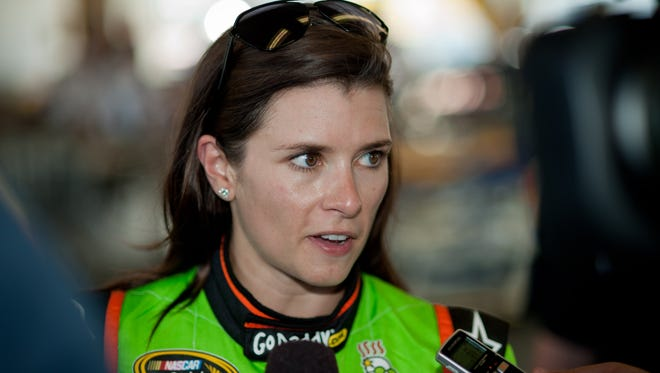 Danica Patrick says she works hard enough not to worry about negative or possibly distracting comments.