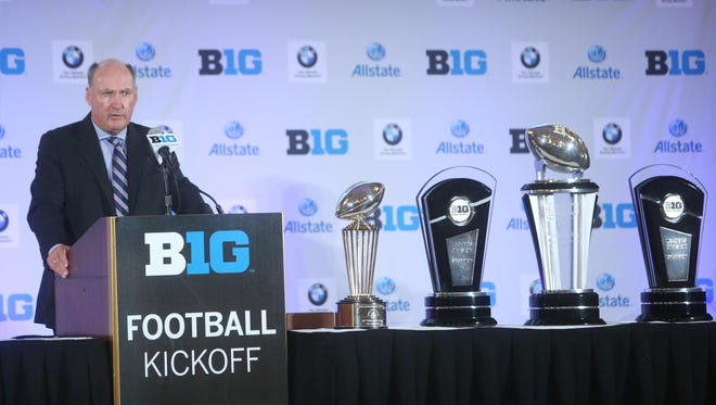 Big Ten Conference commissioner proposed a number of innovative educational reforms for college athletes Wednesday during an address at the league's football media day event in Chicago.