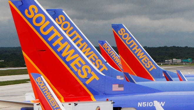 Southwest Airlines earned $224 million in the second quarter.