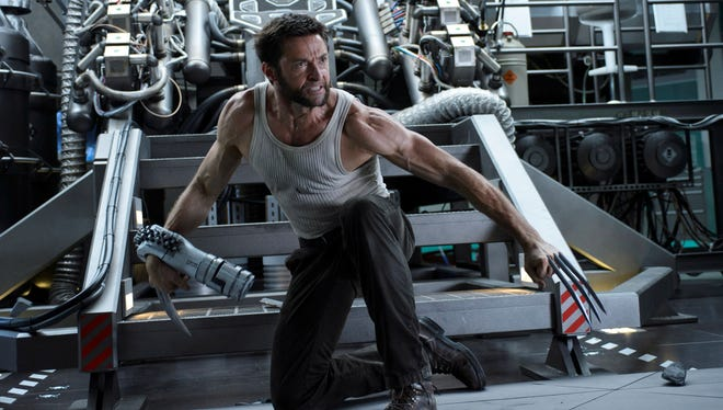 Hugh Jackman rocks Logan's amazing sideburns and claws for a sixth time in 'The Wolverine.'