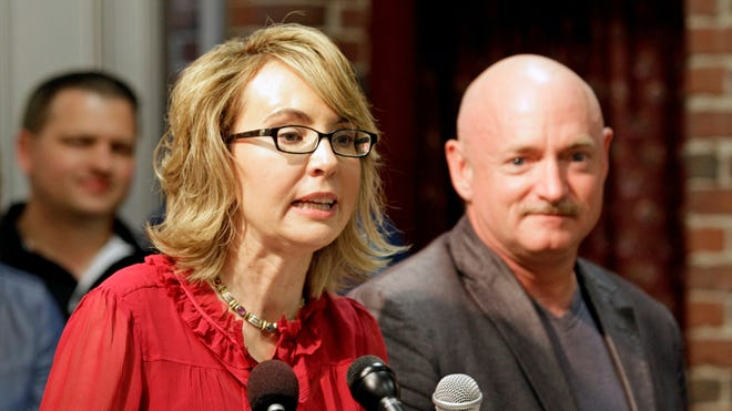 Former Arizona congresswoman Gabrielle Giffords and her husband, Mark Kelly, are pushing for stronger gun-control laws.