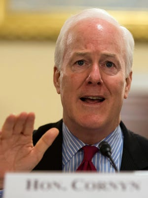 Sen. John Cornyn, R-Texas, wants a law that would restrict any city in financial distress from getting what he called a bailout.