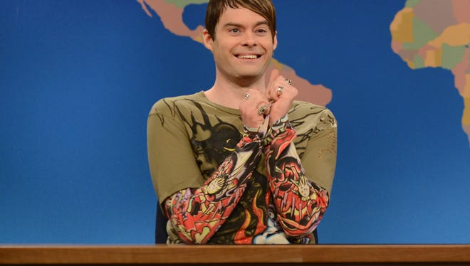 Bill Hader's Stefon character makes an appearance in Slacktory's supercut of SNL cast members breaking character.