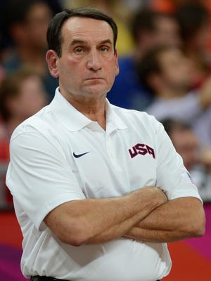Mike Krzyzewski had reservations about coming back for a third Olympic run with Team USA but ultimately decided he could do it.