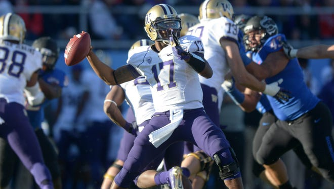 Washington quarterback Keith Price looks to bounce back from a disappointing junior season.