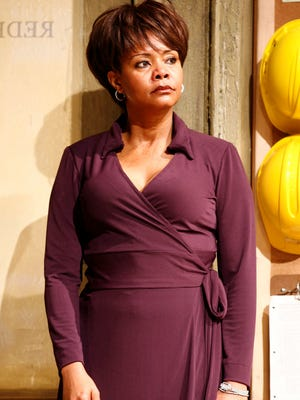 Tonya Pinkins in a scene from the stage production 'Radio Golf' in May 2007.