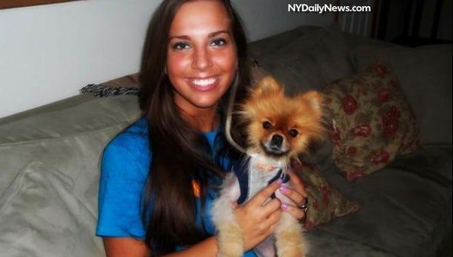 Sydney Leathers, 23, of Princeton, Ind.