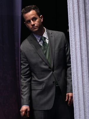 Actor Kirk Cameron before speaking at the annual Conservative Political Action Conference on Feb. 9, 2012 in Washington.