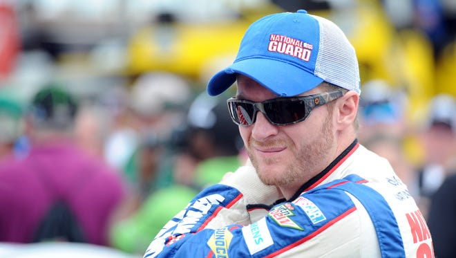 Dale Earnhardt Jr. finished fourth at last year's Brickyard 400 at Indianapolis Motor Speedway.