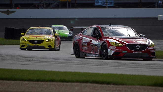 Mazda6 has become the first diesel to win at Indianapolis Motor Speedway