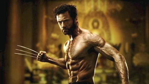 Hugh Jackman propelled 'The Wolverine' to No. 1 in its opening weekend.