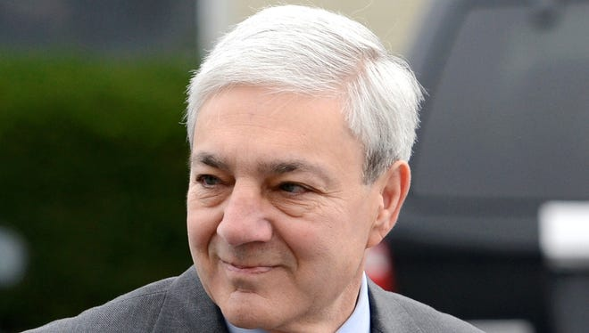 Graham Spanier was ousted as Penn State president in November 2011, shortly after Jerry Sandusky was arrested.