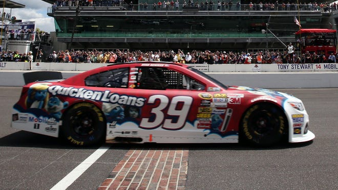 Indiana native Ryan Newman won his first Brickyard 400 after starting from the pole.