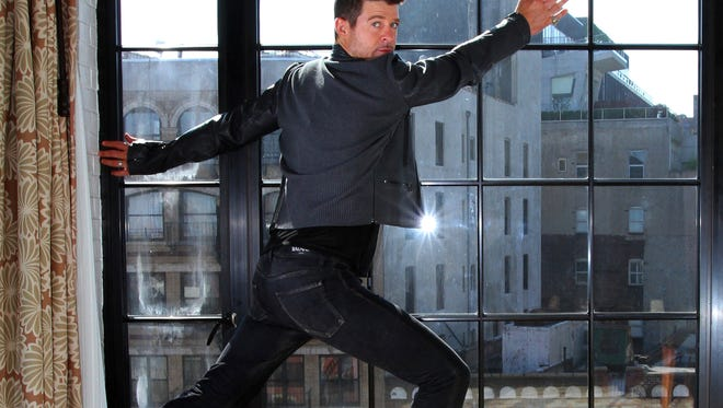 Robin Thicke will release his new album, 'Blurred Lines,' on July 30.