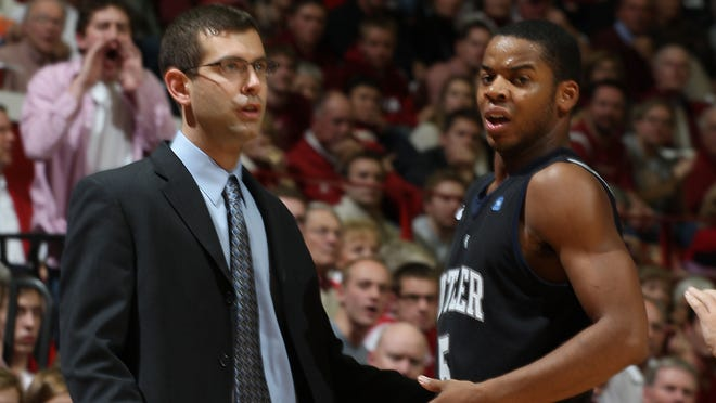 Ronald Nored, right, was point guard for two NCAA runner-up teams under Brad Stevens at Butler.