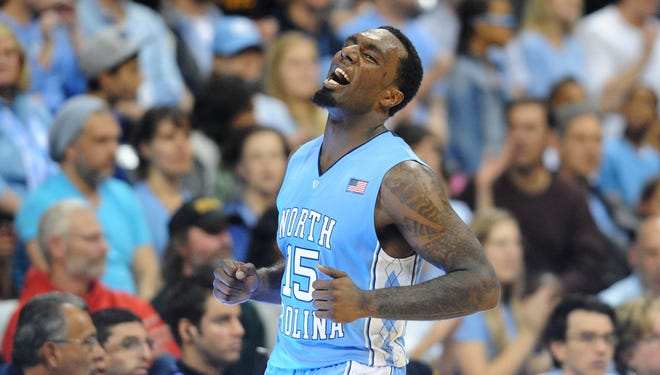 North Carolina's P.J. Hairston has been charged with driving 93 mph.