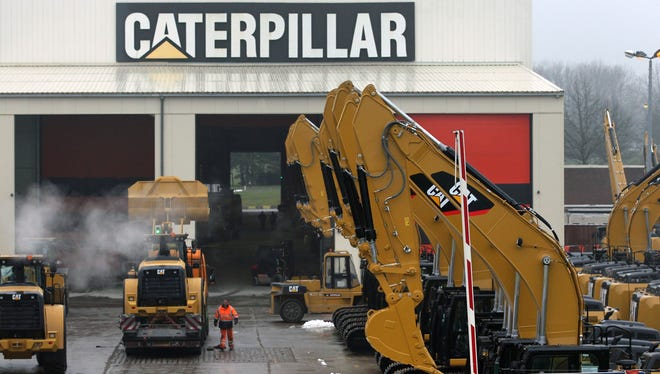 Caterpillar Inc. is planning to buy back $1 billion in shares. Last week, Capterpillar reported that its second-quarter net income slid 43%