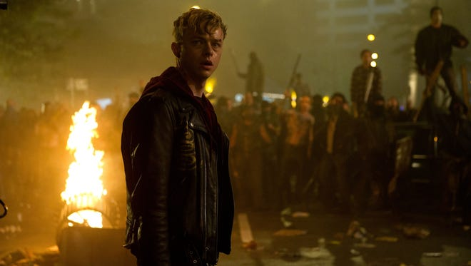 In 'Metallica Through the Never,' a roadie named Trip (Dane DeHaan) goes on a mission and finds himself in a post-apocalyptic scenario.