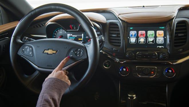 2014 Chevrolet Impala's MyLink system offers Pandora connectivity
