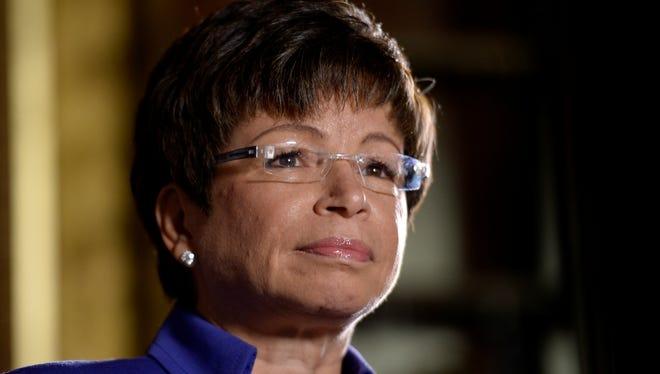 White House Senior Adviser Valerie Jarrett.