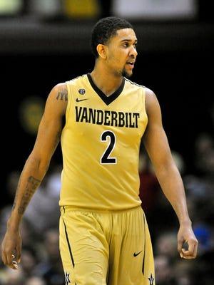 Point guard Kedren Johnson led Vanderbilt in scoring last season.