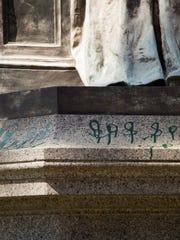 Joseph Henry statue vandalism